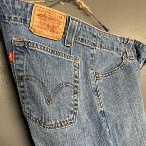 Vintage Levi's 525 Nouveau low jeans